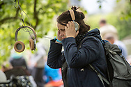 Editorial images taken at the 2017 Heartland Festival in Denmark. Acts that performed included Pearl Jam's Eddie Vedder and British band London Grammar