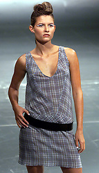 Markus Lupfer collection at London Fashion Week Spring/Summer 2001,.September 26, 2000..Photo by Andrew Parsons/i-Images..