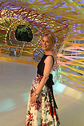 EMILIA FOX Serpentine's Summer party co-hosted with Christopher Kane. 15th Serpentine Pavilion designed by Spanish architects Selgascano. Kensington Gardens. London. 2 July 2015.