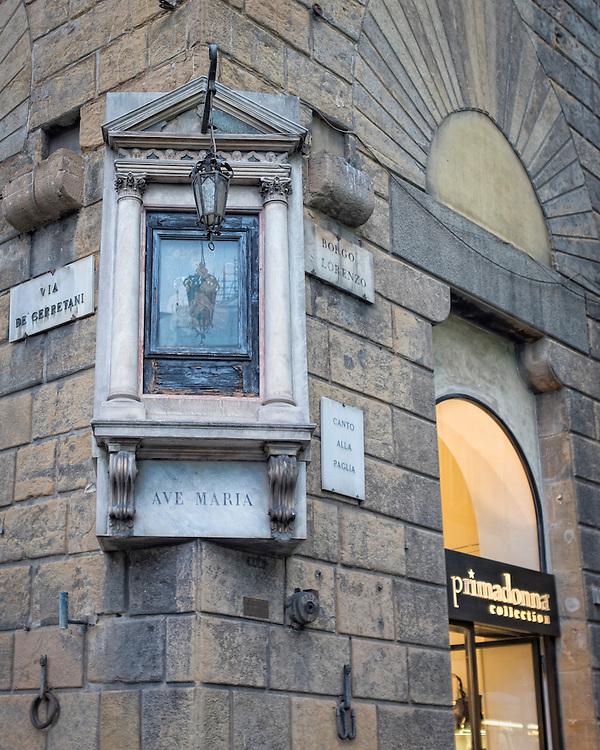 Ave Santa Maria, Florence, Italy.