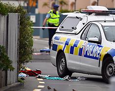 Wellington-Police shoot man after knife threat, Mana