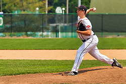 01 June 2019:  Edwardsville Tigers v Normal West Wildcats for the 4A IHSA IWU Baseball Sectional at Jack Horenberger Field in Bloomington Il<br /> <br /> (Photo by Alan Look)