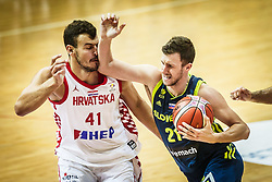 Blaz Mahkovic of Slovenia during friendly basketball match between Slovenia and Croatia , on September 8, 2018 in Arena Zlatorog, Celje, Slovenia. Photo by Ziga Zupan / Sportida