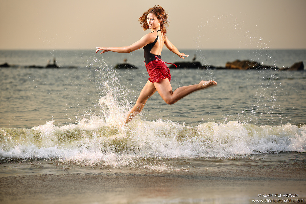 Dance As Art  New York City Photography Coney Island Ocean Series Boardwalk with dancer, Megan Amanda Ehrlich
