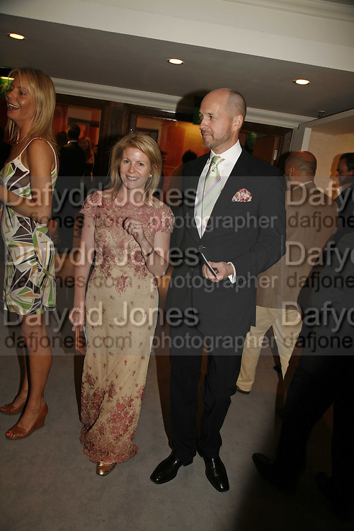 Brett Sherlock and Lady Serena Linley, Gala champagne reception and dinner in aid of CLIC Sargent.  Grosvenor House Art and Antiques Fair.  Grosvenor House. Park Lane. London. 15  June 2006. ONE TIME USE ONLY - DO NOT ARCHIVE  © Copyright Photograph by Dafydd Jones 66 Stockwell Park Rd. London SW9 0DA Tel 020 7733 0108 www.dafjones.com
