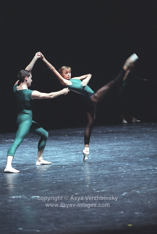 "Kirov Ballet in William Forsythe's ""In the Middle, Somewhat Elevated"""