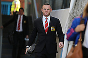 Wayne Rooney of Manchester United arriving for the Barclays Premier League match between Crystal Palace and Manchester United at Selhurst Park, London, England on 31 October 2015. Photo by Ellie Hoad.