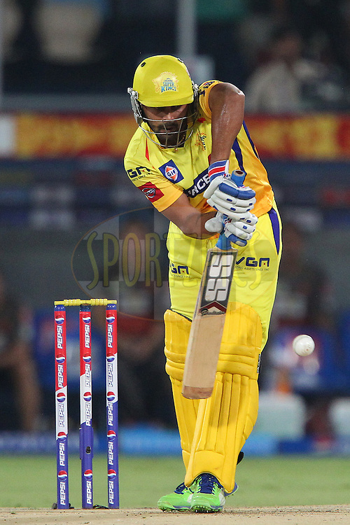 Murali Vijay during match 54 of the Pepsi Indian Premier League between The Sunrisers Hyderabad and Chennai Superkings held at the Rajiv Gandhi International  Stadium, Hyderabad  on the 8th May 2013..Photo by Ron Gaunt-IPL-SPORTZPICS ..Use of this image is subject to the terms and conditions as outlined by the BCCI. These terms can be found by following this link:..http://www.sportzpics.co.za/image/I0000SoRagM2cIEc