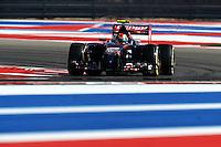 Daniil Kvyat (RUS) Scuderia Toro Rosso STR9.<br /> United States Grand Prix, Friday 31st October 2014. Circuit of the Americas, Austin, Texas, USA.
