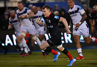 Rugby Union - 2019 / 2020 Gallagher Premiership - Saracens vs. Bristol Bears<br /> <br /> Saracens' Nick Tompkins scores his sides third try, at Allianz Park.<br /> <br /> COLORSPORT/ASHLEY WESTERN