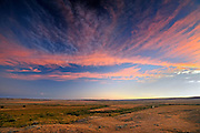 Sunrise on Grasslands (West Block) <br /> Grasslands National Park<br /> Saskatchewan<br /> Canada