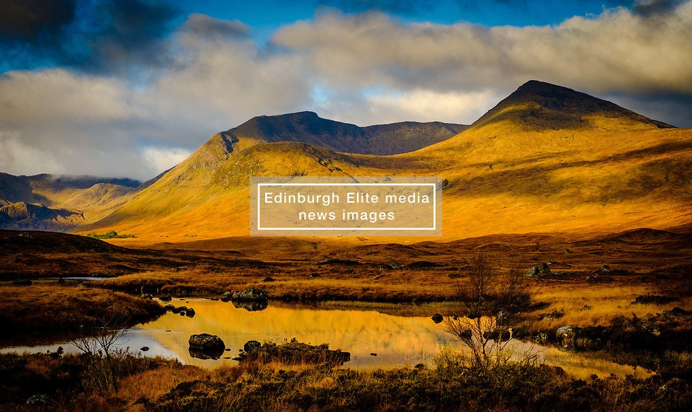 Early morning light on Rannoch Moor, Highlnads of Scotland<br /> <br /> (c) Andrew Wilson   Edinburgh Elite media