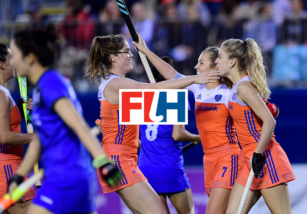 AUCKLAND - Sentinel Hockey World League final women<br /> Match id:<br /> 18 NED v KOR (Semi Final)<br /> Foto: <br /> WORLDSPORTPICS COPYRIGHT FRANK UIJLENBROEK