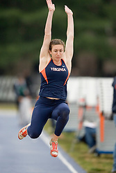 Virginia Cavaliers Bianca Debartolo finished fourth in the long jump. The University of Virginia Track and Field team hosted the 2007 Lou Onesty Invitational Track Meet at the University of Virginia in Charlottesville, VA on April 14, 2007.