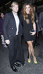 © Licensed to London News Pictures. 19/02/2014, UK. Jodi Albert & Kian Egan, The BRIT Awards 2014 - Warner Music After Party, The Savoy, London UK. Photo credit : Brett D. Cove/Piqtured/LNP