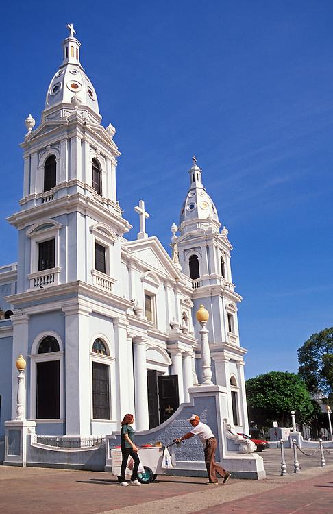 Cathedral Nuestra Senora de Guadalupe, Plaza de Las Delicias, Ponce, Puerto Rico.