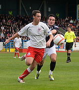 Jonathon Brown and Sean Higgins - Stirling Albion v Dundee, IRN BRU Scottish League 1st Division, Forthbank Stadium, Stirling<br /> <br />  - © David Young<br /> ---<br /> email: david@davidyoungphoto.co.uk<br /> http://www.davidyoungphoto.co.uk