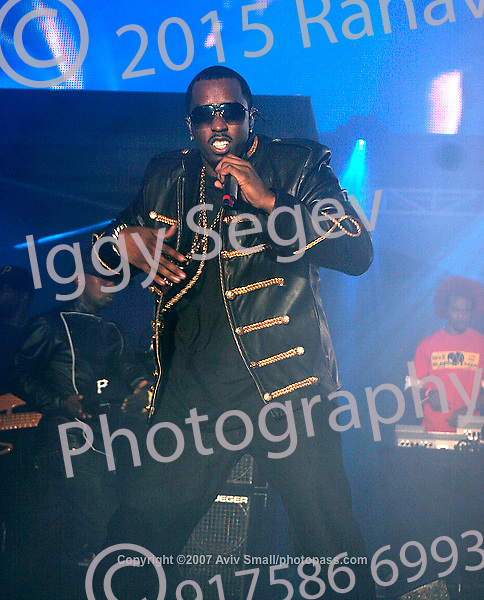 "Sean ""P. Diddy"" Combs performing at Giant's Stadium in East Rutherford New Jersey on June 3, 2007 during Hot 97's Summerjam 2007..."