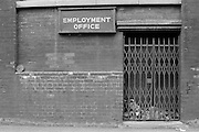 Employment office BSC River Don Works, Sheffield.