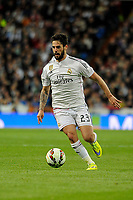 Real Madrid´s Isco during 2014-15 La Liga match between Real Madrid and Malaga at Santiago Bernabeu stadium in Madrid, Spain. April 18, 2015. (ALTERPHOTOS/Luis Fernandez)