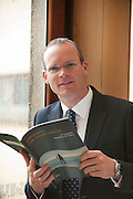 31/07/2012. REPRO FREE FIRST USE.  Repro free first use. Simon Coveney TD, Minister for Agriculture Food and the Marine TD with a Government plan to double the value of Ireland's ocean wealth to 2.4% of GDP by 2030 and increase the turnover from our ocean economy to exceed ?6.4bn by 2020. The report, 'Harnessing Our Ocean Wealth - An Integrated Marine Plan for Ireland' was launched at the Marine Institute,  Galway by An Taoiseach Enda Kenny, TD,. Picture :Andrew Downes.