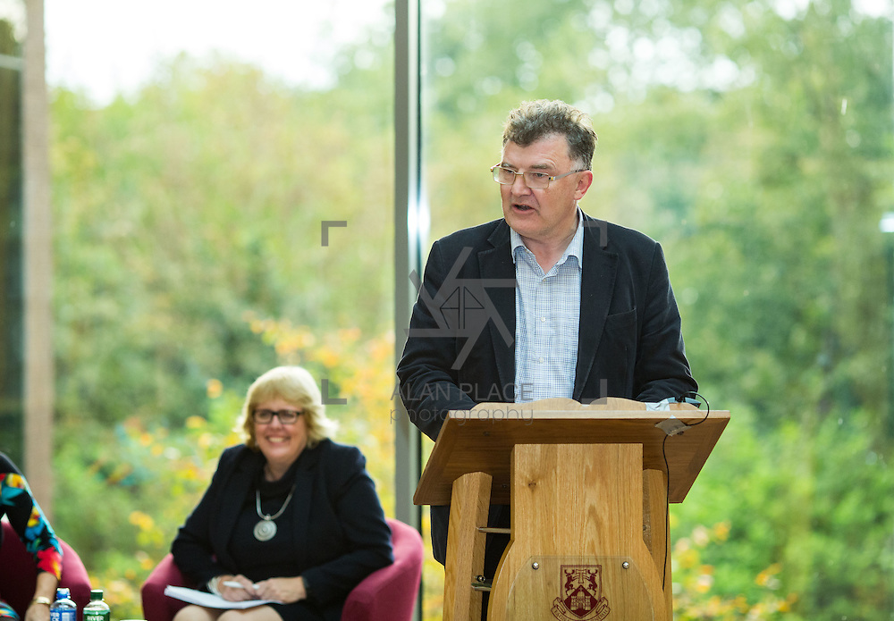 14.10.2016                 <br /> A new research centre focussing on Irish and European history and culture was launched in Limerick.<br /> <br /> Pictured at the launch was Michael Breen, Dean of Arts, Mary Immaculate College, Limerick.<br /> <br /> The Centre for Early Modern Studies brings together experts from University of Limerick and Mary Immaculate College to further the study of the history and culture of the 16th, 17th and 18th centuries. <br /> <br /> The Centre for Early Modern Studies was launched  with an inaugural lecture by Professor Jane Ohlmeyer, Erasmus Smith&rsquo;s Chair of Modern History, Trinity College Dublin, Director of the Trinity Long Room Hub, and Chair of the Irish Research Council. Professor Ohlmeyer spoke on the topic of &lsquo;Early Modern Ireland and the Wider World&rsquo;.<br /> Picture: Alan Place