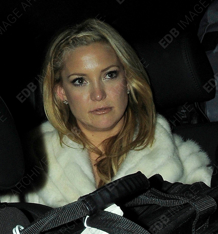 03.DECEMBER.2009 - LONDON<br /> <br /> KATE HUDSON LEAVING THE AFTERPARTY AT CLARIDGES HOTEL AFTER THE PREMIERE OF HER NEW FILM NINE AND HEADED TO ANNABELL'S CLUB IN MAYFAIR WITH BOYFRIEND ALEX RODRIGUEZ WHERE THEY STAYED TILL 1.30AM.<br /> <br /> BYLINE: EDBIMAGEARCHIVE.COM<br /> <br /> *THIS IMAGE IS STRICTLY FOR UK NEWSPAPERS &amp; MAGAZINES ONLY*<br /> *FOR WORLDWIDE SALES &amp; WEB USE PLEASE CONTACT EDBIMAGEARCHIVE-0208 954 5968*