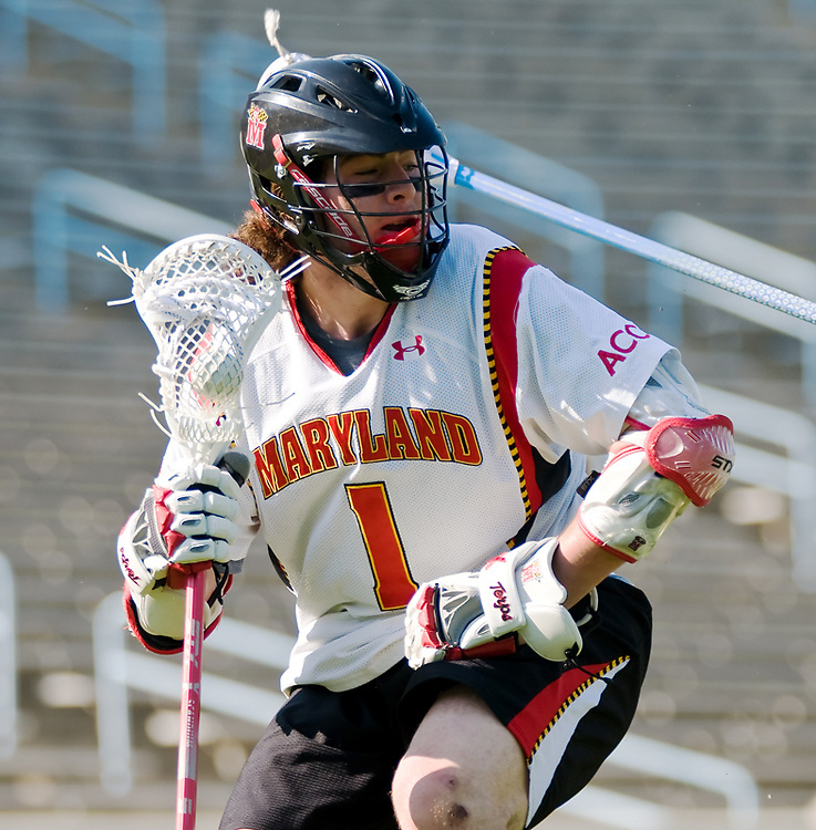 24 April 2009:Marylands sophomore attack #1 Grant Catalino .