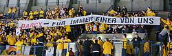 31.10.2010, Eisstadion Liebenau, Graz, AUT, EBEL, Graz 99ers vs Vienna Capitals, im Bild ein Feature mit Fans der Capitals, Darcy Werenka, EXPA Pictures © 2010, PhotoCredit: EXPA/ S. Zangrando