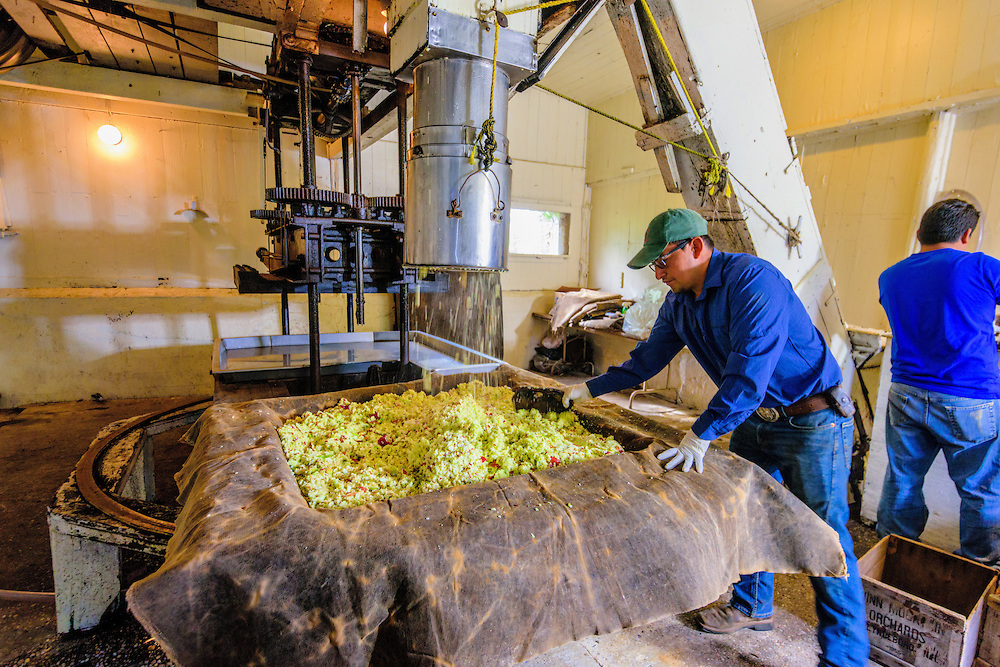 Cider Press, Wickham's Fruit Farm, Cutchogue, NY