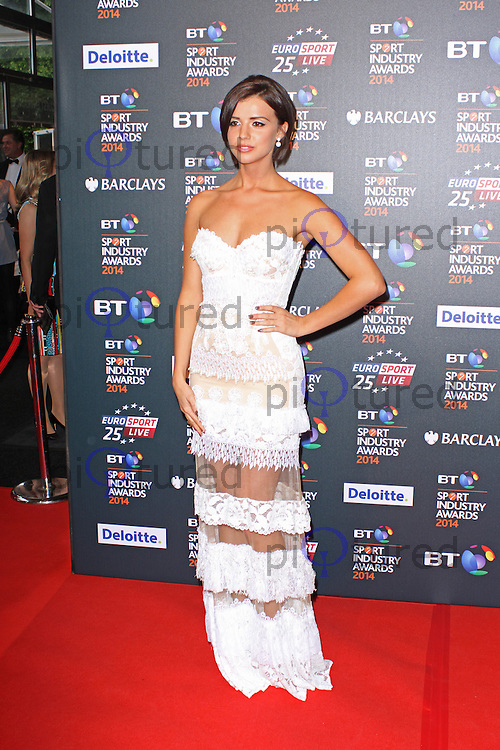 Lucy Mecklenburgh, BT Sport Industry Awards 2014, Battersea Evolution, London UK, 08 May 2014, Photo by Brett D. Cove