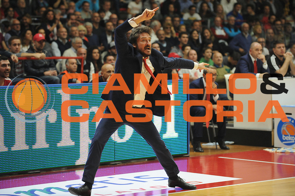 DESCRIZIONE : Varese Lega A 2014-2015 Openjob Metis Varese Acqua Vitasnella Cantu&rsquo;<br /> GIOCATORE : Gianmarco Pozzecco<br /> CATEGORIA : Esultanza<br /> SQUADRA : Openjob Metis Varese<br /> EVENTO : Campionato Lega A 2014-2015<br /> GARA : Openjob Metis Varese Acqua Vitasnella Cantu&rsquo;<br /> DATA : 12/10/2014<br /> SPORT : Pallacanestro<br /> AUTORE : Agenzia Ciamillo-Castoria/Max.Ceretti<br /> GALLERIA : Lega Basket A 2014-2015<br /> FOTONOTIZIA : Varese Lega A 2014-2015 Openjob Metis Varese Acqua Vitasnella Cantu&rsquo;<br /> PREDEFINITA :