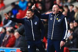 Bristol Rovers manager Graham Coughlan shouts - Mandatory by-line: Matt McNulty/JMP - 27/04/2019 - FOOTBALL - Highbury Stadium - Fleetwood, England - Fleetwood Town v Bristol Rovers - Sky Bet League One