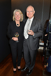 LORD & LADY BIRT at a party to launch the Gaziano & Girling Ladies Collection held at Gaziano & Girling, 39 Savile Row, London on 5th April 2016.