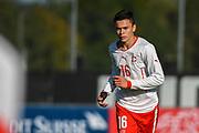21.09.2017; Niederhasli; FUSSBALL U16 - Schweiz - Italien;<br /> Fabian Rieder (SUI) <br /> (Andy Mueller/freshfocus)