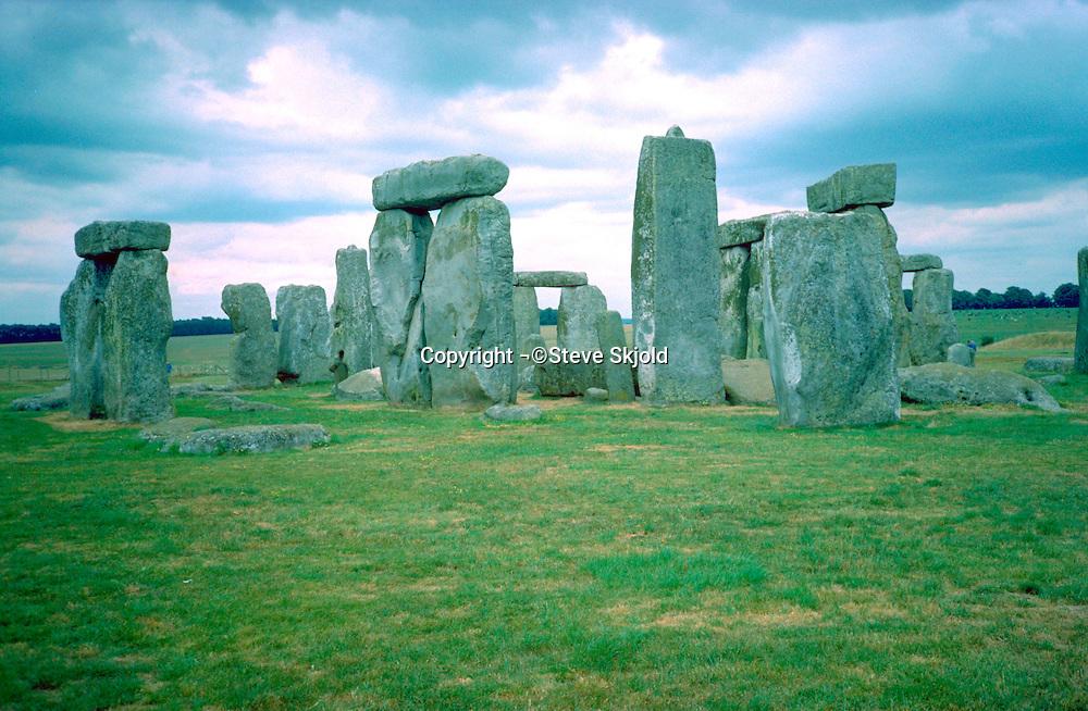 The ever mystical Stonehenge.  Stonehenge  England