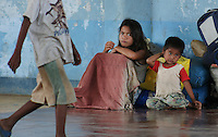 Poor homeless children, Palawan, Philippines