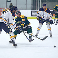 2nd year forward, Ben Duperreault (20) of the Regina Cougars during the Men's Hockey Home Game on Sat Oct 13 at Co-operators Center. Credit: Arthur Ward/Arthur Images