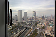 View of Tel Aviv from Google's offices in Tel Aviv, Israel