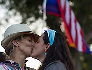 Same-Sex Marriage Celebration Held in West Hollywood