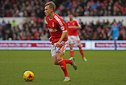 Ben Osborn during the Sky Bet Championship match between Nottingham Forest and Millwall at the City Ground, Nottingham, England on 31 January 2015. Photo by Jodie Minter.
