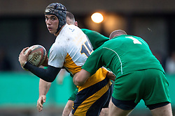 Rugby match between National team of Slovenia (green) and Cyprus (white) at EUROPEAN NATIONS CUP 2012-2014 of C group 2nd division, on November 9, 2013, in Stanezice, Ljubljana, Slovenia. (Photo by Matic Klansek Velej / Sportida.com)