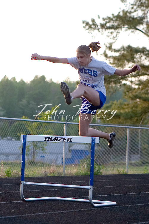 MCHS Track & Field.vs Strasburg and Page .May 3, 2006