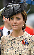 Royals Attend Somme Battle Centenary Service 2