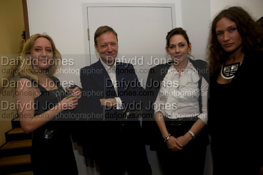 TAMSIN O'HANLON; RICHARD GREER; JUDITH GREER; LULU KENNEDY; . Whitechapel celebrates its expansion into the building next door with an opening party. London. 2 April  2009