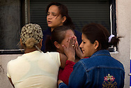 .Member of family rush to the hospital in the city of Juarez where one of the family members be hospitalized after someone was try to assassinated him..Thursday December 25,2008.