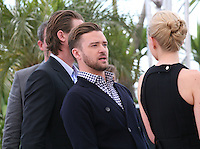 Actor Justin Timberlake at the Coen brother's new film 'Inside Llewyn Davis' photocall at the Cannes Film Festival Sunday 19th May 2013