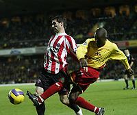 Photo: Marc Atkins.<br /> <br /> <br /> <br /> Watford v Sheffield United. The Barclays Premiership. 28/11/2006.
