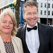 NLD/Amsterdam/20180616 - 26ste AmsterdamDiner 2018, Jeroen Dijsselbloem en partner Lea Bouwmeester