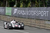 Timo Bernhard (DEU) / Mark Webber (AUS) / Brendon Hartley (NZL) #1 Porsche Team Porsche 919 Hybrid, . Le Mans 24 Hr June 2016 at Circuit de la Sarthe, Le Mans, Pays de la Loire, France. June 15 2016. World Copyright Peter Taylor/PSP.